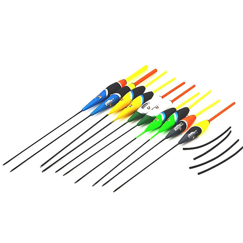 Master Series Floats 10pcs/lot 2g/17.5cm 3g/18cm 4g/21.5cm Bobber Fishing Float Set Buoy Fishing Tackle