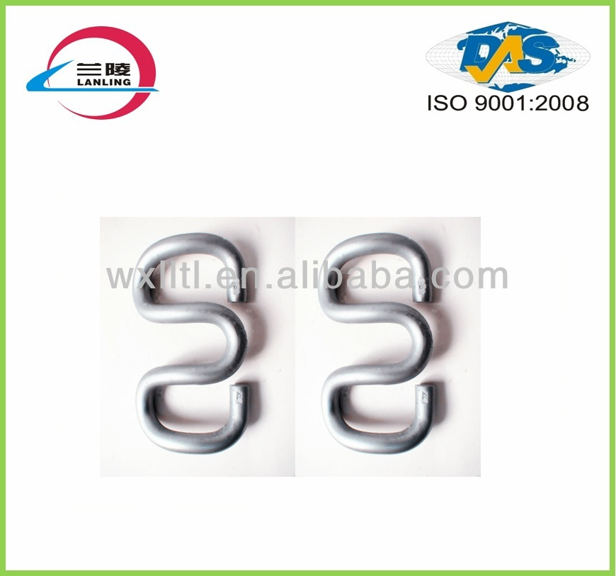 Butterfly fasteners for uic60 rail