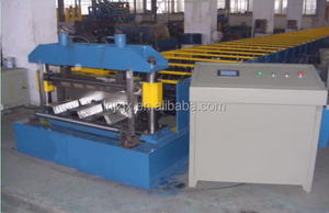 Steel decking floor tile making machine price