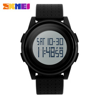 Digital watch led watch thin digital jam tangan 50m waterproof watch