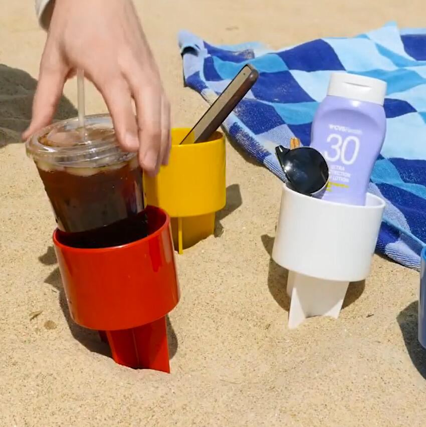 Sand Coaster Beach Drink Cup Holder/Bottle Holder/Beach Drink Cup Stand