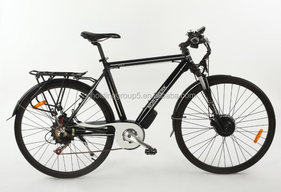 v w bicicleta elctrica caballero negro elctrico ruedas de bici de la suciedad