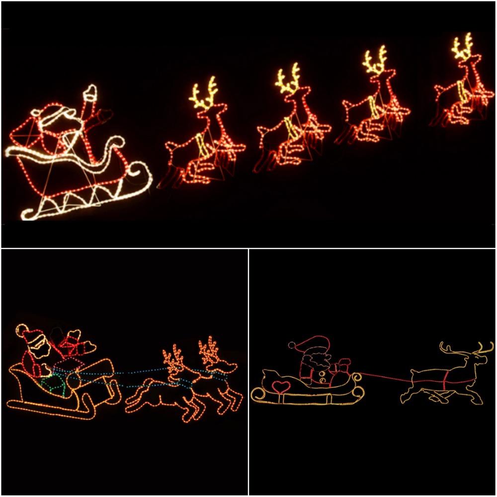 Christmas rope light silhouette animated santa reindeer with led christmas rope light silhouette animated santa reindeer with led lights for outdoor decoration buy christmas rope light silhouettereindeer sleigh with aloadofball Gallery