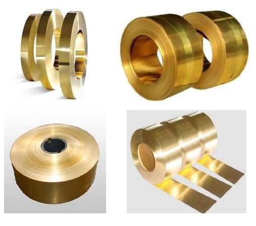 Copper alloy strip c194
