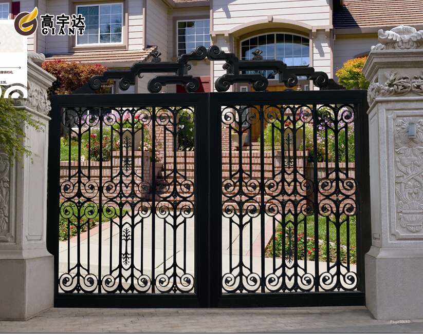 Wrought Iron Gates Design/ Main Iron Gate Models For Homes
