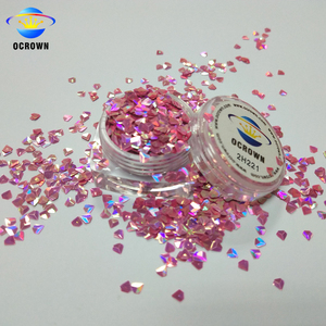 Wholesale Decorative 3D Diamond Color Shifting Bulk Glitter Powder Sequins for Nail Art
