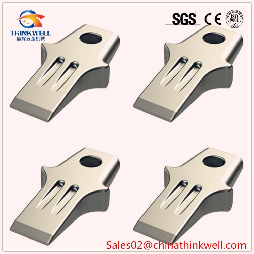 Replacement Spare Wear Parts for Ditch Witch Trenchers Tungsten Carbide Cupped Digging Tooth