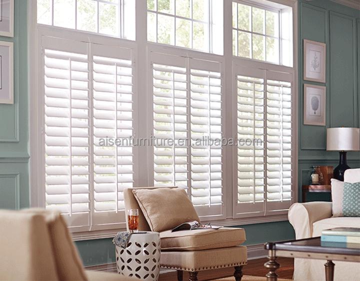 Sun Adjustable Vertical Home Decor Interior Wooden Shutters Window   Buy Plantation  Shutters From China,Wood Window Shutter,Sliding Wood Windows Product On ...