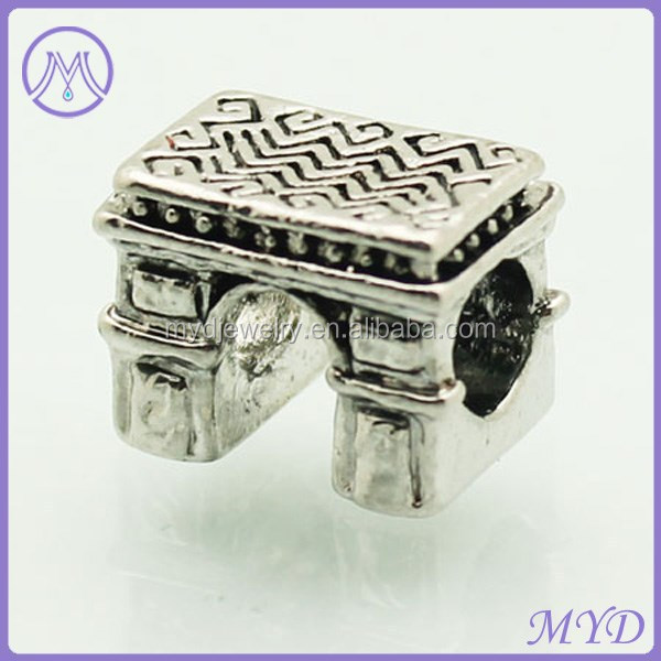 Famous Triumphal Arch Charms for European Beads