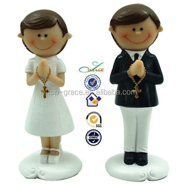 Resin handmade wholesale gifts for first communion