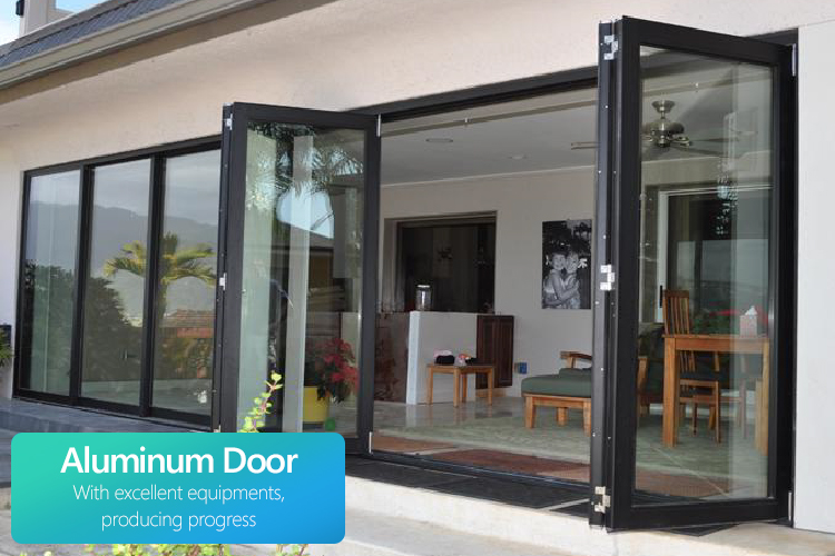 living room aluminium sliding bifold doors decorative interior double bifold doors