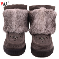 CF-034 Beaded Winter Manufacturer Cheap And Classical Lady Fashion Brands Snow Boots