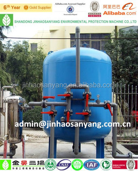 Automatic Backwash Activated Carbon Filter For Industrial ...