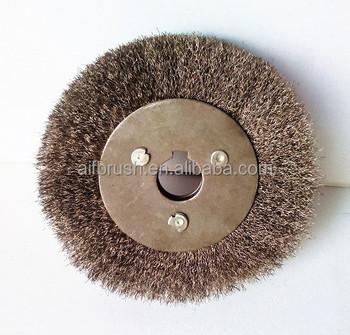 Steel Wire Brush Polishing Brush Buffing Wheel Brushes With Keyway - Buy  Polishing Brush,Buffing Wheel Brushes,Wheel Brushes With Keyway Product on