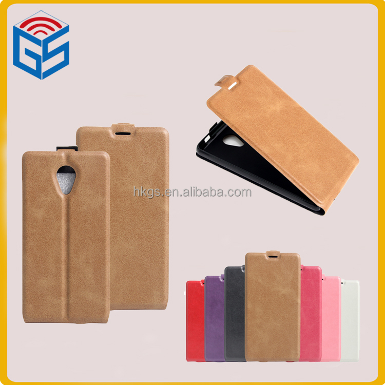 Vertical Flip Leather For Wiko Robby Phone Cover Case
