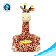 New arrival OEM Custom Soft plush animal giraffe baby sofa chair for Promotional Gift