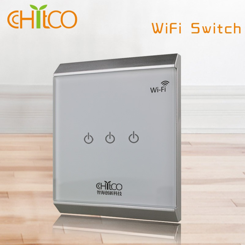 chitco wifi wall switches bluetooth light switch buy. Black Bedroom Furniture Sets. Home Design Ideas