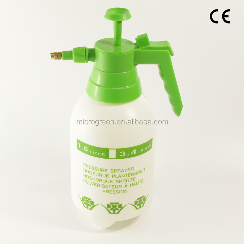 1.5L Agriculture Plant Manual Aire Pressure Sprayer With Mist Nozzle
