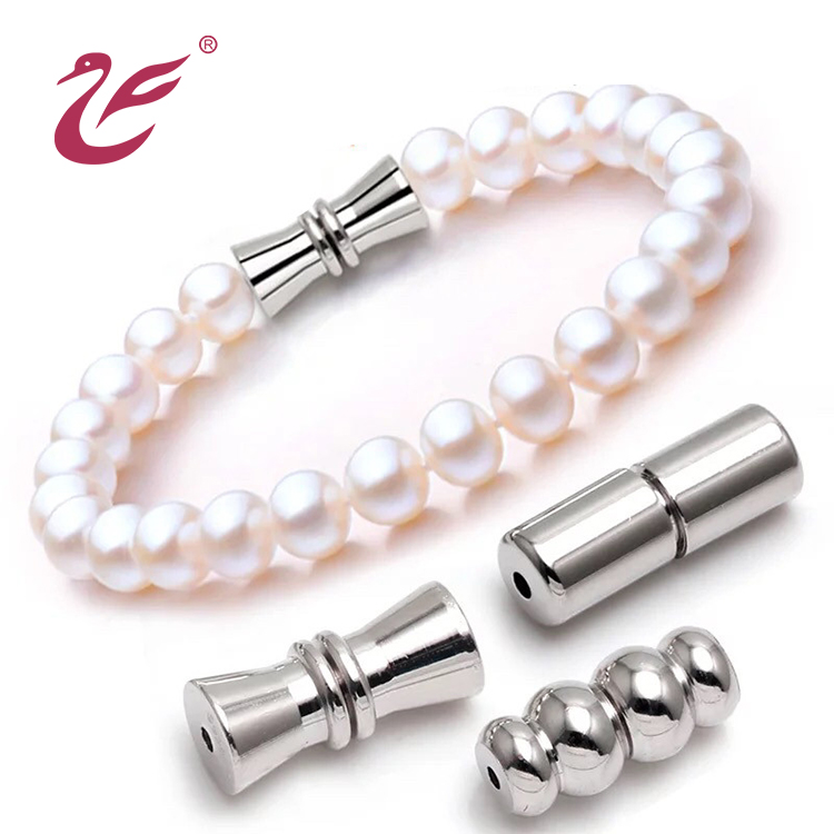 Custom ladies pearl necklace clasp and pearl bracelet clasp