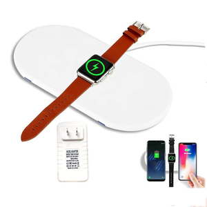 10W Wireless Phone Charger Pad Support Qi Standard Fast Charging for Apple Watch for Samsung