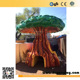 PU Soft Foam Sculpted Tree House Play Indoor Attractions for Children Themed Indoor Playground Area