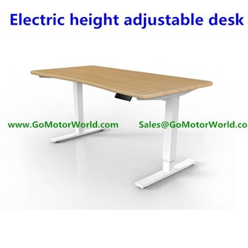 Two Or Three Legs Electric Height Adjustable Office Desk Leg For