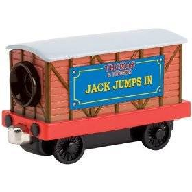 Jack Jumps In Movie Car by Take Along Thomas the Tank Engine