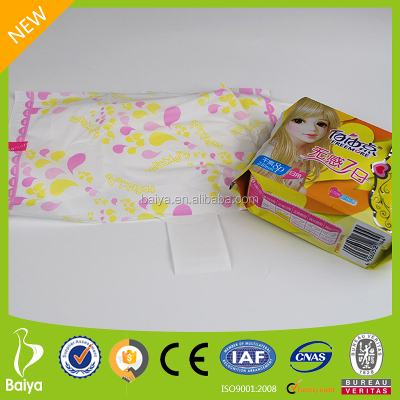 Ultra Essence Cooling Sanitary Pad for Woman Disposable Hygienic Products Heavy Flow Sanitary Pads