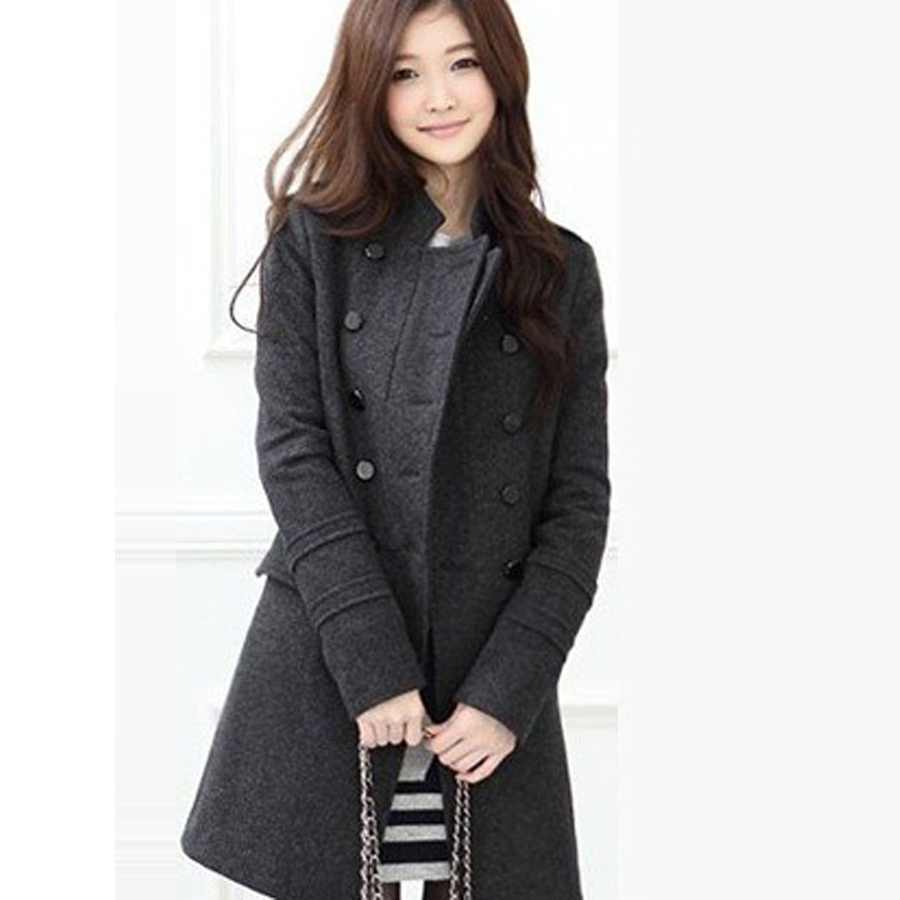 Cheapest Price!! 2016 Korea Style Women's Windbreaker Long