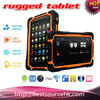 Pass CE M76QN rugged tablet with RFID 13.56MHZ ISO14443A MTK6589 Quad core tablet wifi bluetooth NFC rugged tablet for industry