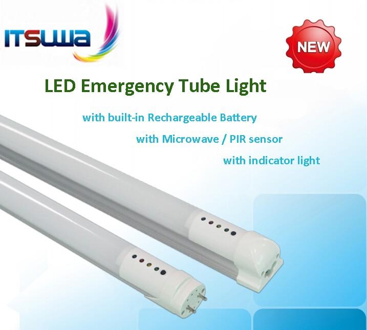 Rechargeable Led T8 Tube Light Emergency Light 3hour Emergency 4ft ...