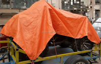 uv guard plastic sheet pe tarpaulin for motorcycle, car cover
