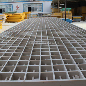 FRP GRP Grating Deck floor, Fiberglass Pultruded Grating Decking