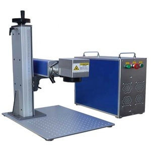 Jinan CAMEL CA-F20 EZCAD Control Card 20W Fiber Laser Marking Machine for metal brass