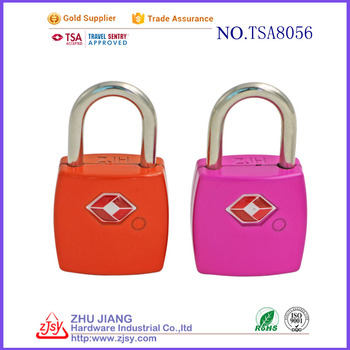 tsa digit combination double key padlock