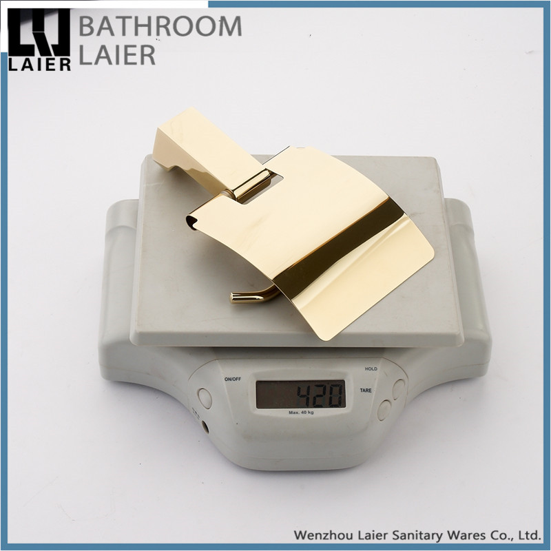 17933 2016 bath accessories wholesale cheap paper holder gold plating bathroom accessories kitchen toilet paper holder