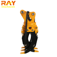 Mini Excavator Rotating Grappler Log Grapple Price For Forwarder