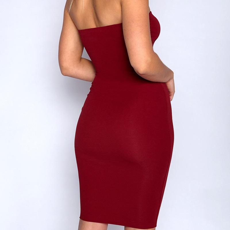 Высокая конец 2018 дамы юбка пикантное женское, взрослое Китай челнока продать мою одежду плечо с одежды реальное платье