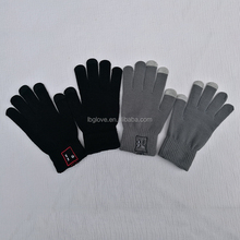 Bluetooth glove call Knitted smart touch gloves for Smartphone