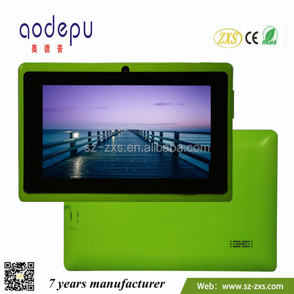 A23 mid tablet pc 7 inch, Kids tablet pc free sample ZXS-2