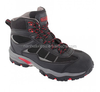 Men Safety Trekking Shoes High Grade Outdoor Hiking Style Steel ...