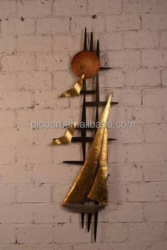 Scultura Decorazioni Da Parete In Metallo.Moderno Metallo Wall Art Scultura Scultura Da Parete In Ferro Per