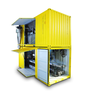 Port Containerized Mobile Weighing and Bagging Packing Machine
