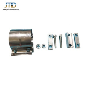 High Performance Different Size Hot Sale Stainless Steel Band Muffler Clamp
