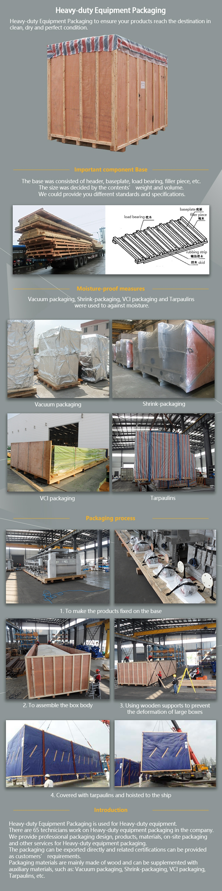 Customized large wooden plywood crates wholesale wooden crate