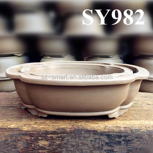 New Design Chinese Unique Terracotta Ceramic Bonsai Pot View Terracotta Ceramic Bonsai Pot Sy Product Details From Shenzhen Smart Imp Exp Co Ltd On Alibaba Com