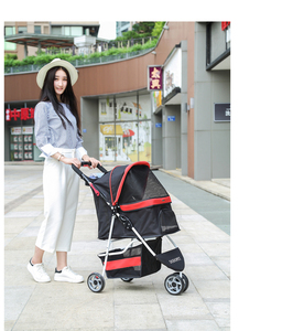 pet dog animals baby stroller 3 in 1