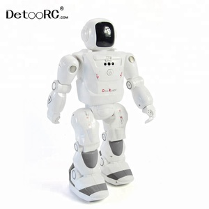 Detoo Christmas toys gesture sensing big rc robots smart toys programming radio control robot toy kids