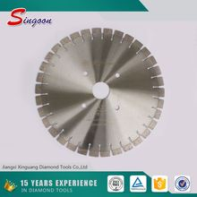 500mm Granite Sandstone Cutting Diamond Bridge Saw Blade