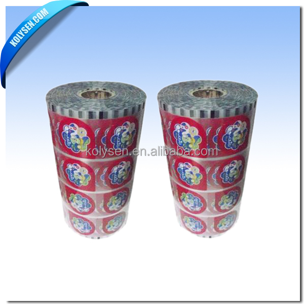 Embossing Peelable Lidding Sealing Film in Rolls for Plastic Cup
